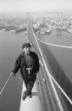 Bruce Steinberg on the Bay Bridge
